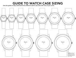Invicta Watch Size Chart Bedowntowndaytona Com