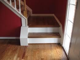 stair landing on hardwood floor pictures to pin on wood flooring on stairs nosing