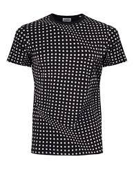 Ed Factured Dot T Shirt Black Pois Oddlot