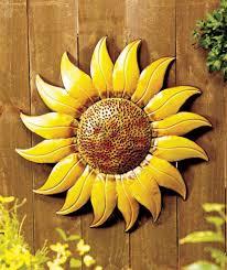 amazing sunflower wall decor