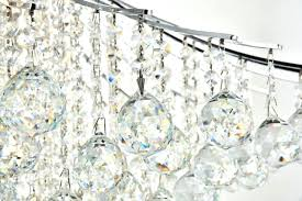 full size of foucaults orb clear crystal chandelier prisms light in chrome with royal cut home