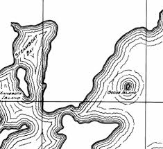 Leech Lake Maps Depth Vegetation Topography Blog