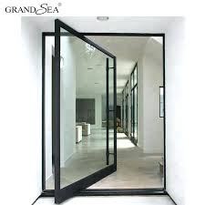 modern office entrance doors modern office main entrance heavy duty aluminum pivot door design pivot modern office entrance doors