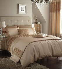 Tan And Gold Bedroom, But I Do Not Like The Bed Linen!