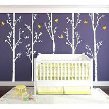 birch tree wall mural forest murals