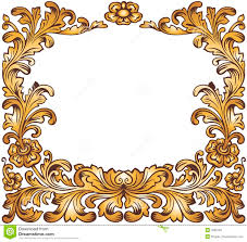 antique gold frame vector antique frame clipart gold clip art images 2984