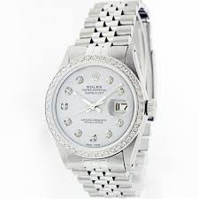 watch auction seized assets auctioneers rolex auction of a datejust men s stainless steel watch diamond hour markers