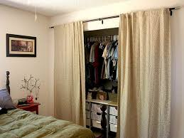 Can I Use Curtains For Closet Doors
