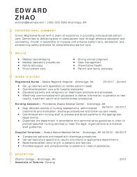 Examples Of Qualifications For Resumes Unforgettable Registered Nurse Resume Examples To Stand Out