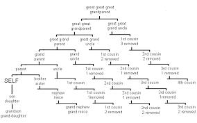 Family Tree Relationship Chart Family Tree Relationship Chart Family Relationship Chart