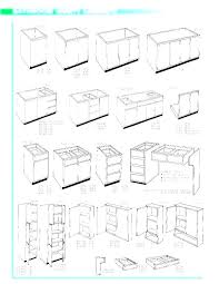 Standard Kitchen Base Cabinet Sizes Chart Kitchen Cabinet Sizes Modernhustledesign Co