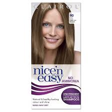 Semi Permanent Hair Dye Colour Chart 22 Rational Nice N Easy Blonde Colour Chart
