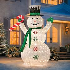 Light Up Snowman Decorations Outdoor Christmas - Celebration All