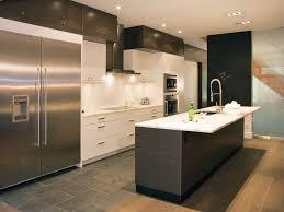 stratus slate grey zebrano with cirrus oyster modern kitchen