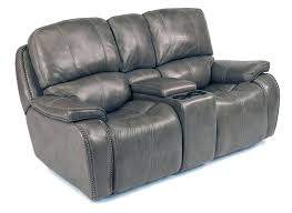 reclining loveseat microfiber sofa black leather with console modern power modern reclining loveseat s57