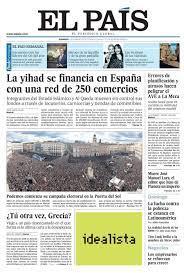 Diario El País de España: la decadencia del periodismo