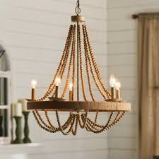 lighting wood. Tremiere 5-Light Candle-Style Chandelier Lighting Wood T