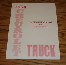 chevy truck wiring diagram manual chevy image 1958 chevrolet truck wiring diagram manual for complete chassis 58 on chevy truck wiring diagram manual