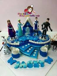 Frozen Design Jelly Happy Birthday To Jacey Crystal Jelly Cake