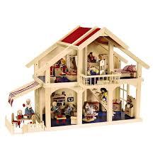 Wooden Dollhouse Furniture Sets Magic Cabin