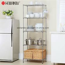 Wire kitchen rack Tier Wire Cheap Tier Nsf Adjustable Metal Wire Kitchen Storage Rack Shelves Pictures Photos Dobrepiececo China Cheap Tier Nsf Adjustable Metal Wire Kitchen Storage Rack