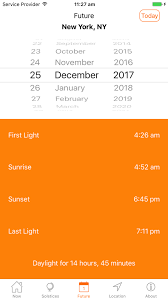 Sunrise Sunset Times App For Iphone Free Download Sunrise