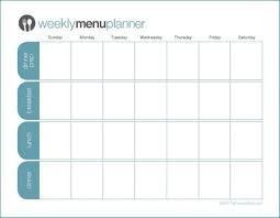 Click To Print Tpm One Week Menu Planner Weekly Menu