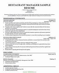General Resume Samples 9 10 Restaurant General Manager Resume Samples