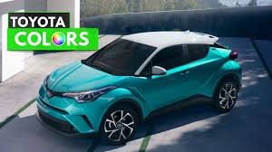 2018 toyota exterior colors. interesting colors 2018 toyota chr colors on toyota exterior colors a