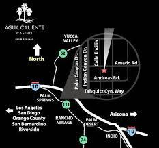 Agua Caliente Casino Seating Chart Directions Agua Caliente Casino Palm Springs