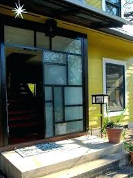 glass front doors privacy. Front Door Privacy Half Glass Clear Blinds . Unparalleled Doors I