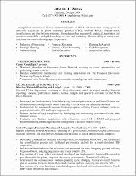 Resume Analysis Custom Financial Planning And Analysis Resume Examples Skills For Financial
