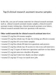 Download Clinical Research Entry Level