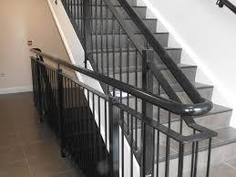 Metal handrails for stairs Diy Black Steel Inturnal Stair Railings Bam Fabrications Handrails For Stairs Northern Ireland Bam Fabrications