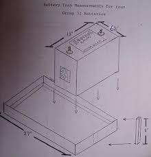 battery tray measurements eternal rollerz c c international diagrambatterytray Â