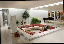 arranging furniture in a long narrow living room