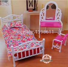diy barbie doll furniture. modren doll best girls gifts bed and dressing table diy accessories doll furniture  for barbie 18 in inch  with