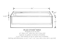 standard tub shower dimensions superglide info rh superglide info standard clawfoot tub dimensions standard tub drain dimensions