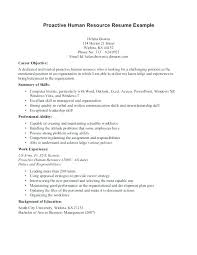 Human Resources Objective For Resume. Valuable Hr Manager Cv Sample ...