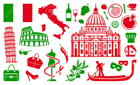 Traditional Symbols Traditional Symbols Of Italy Royalty Free Cliparts Vectors And