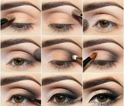 eyeshadow styles step by natural makeup look for brown eyes