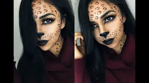 cheetah makeup tutorial