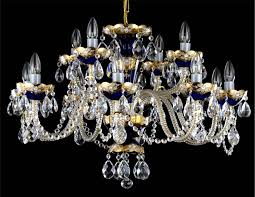enamelled crystal chandelier 17