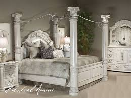 Creative of Silver Bedroom Furniture Sets King Size Canopy Bedroom ...