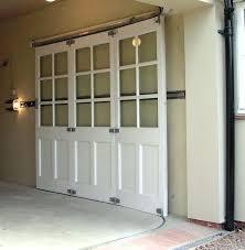Horizontal Sliding Garage Doors A sliding garage door is probably