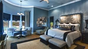 modern bedroom blue. Bold Blue Wall Designs In Modern Bedroom Decoration Ideas Be Creative And Gain Wonderful Design D