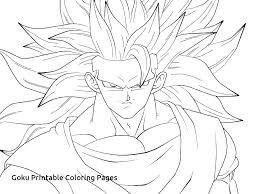 Dragon Ball Z Super Saiyan Coloring Pages Carriembeckerme
