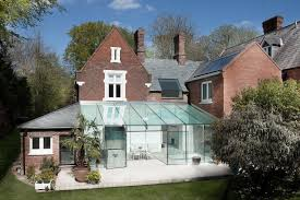 Collect this idea House With Glass Extension