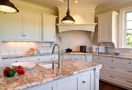 Granite With Cream Cabinets Ivory Kitchen Paint Ideas Quicuacom