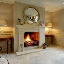 bath stone georgian fireplace were an elegant feature